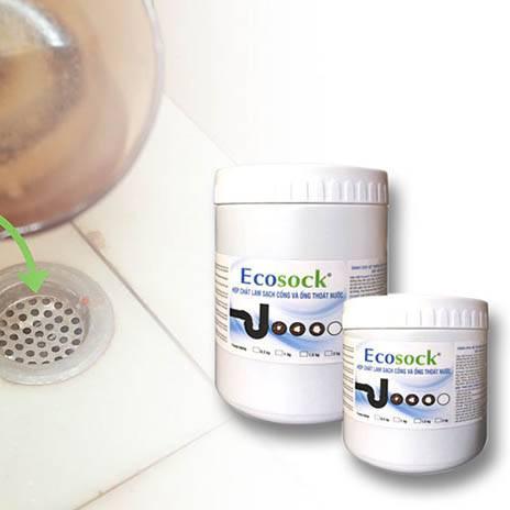 Bột thông cống cực mạnh EcoSock của Mỹ - Hộp 0.5Kg (1)