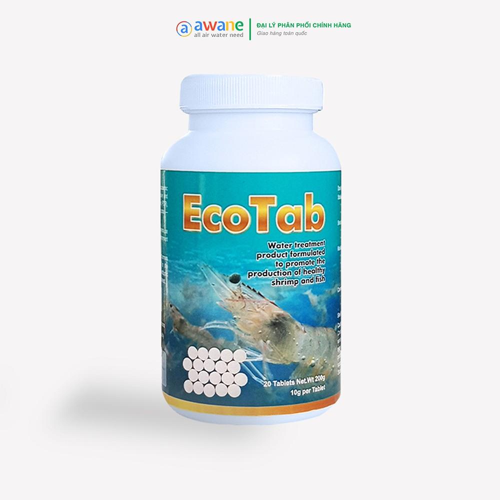 Chế phẩm sinh học trong nuôi trồng thủy sản EcoTab dạng viên nén