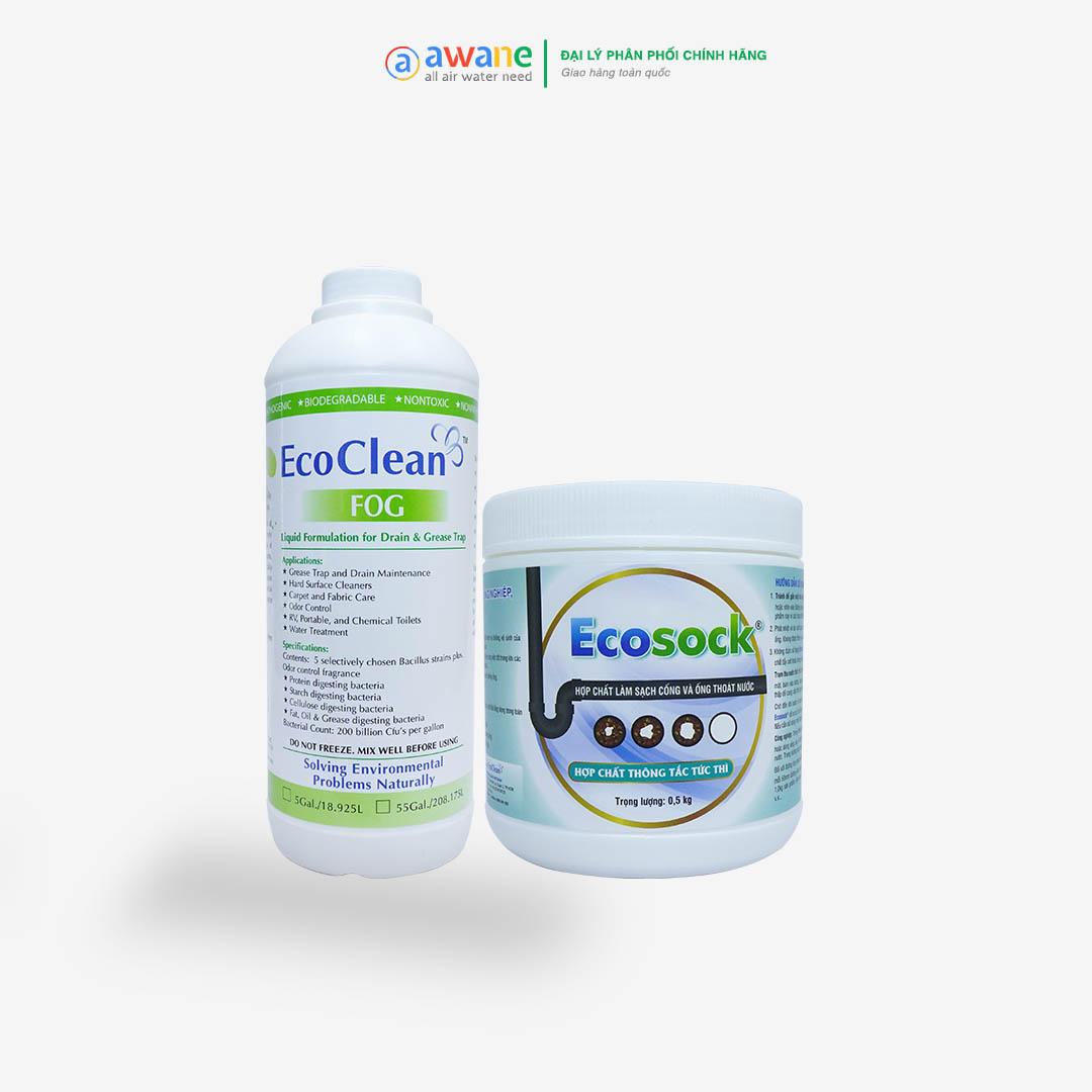 Combo Thông Tắc - EcoSock+FOG