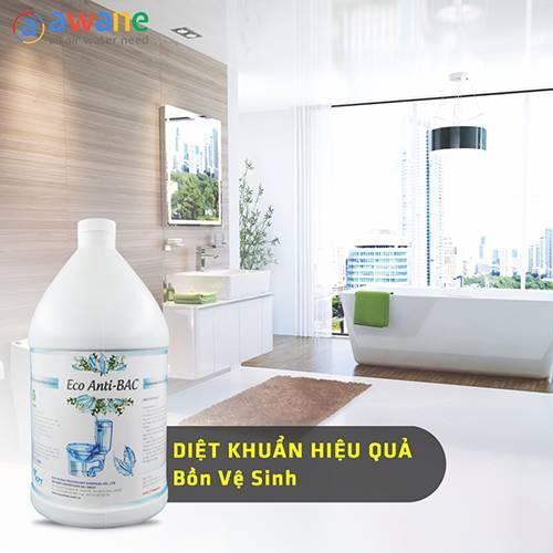 Dung Dịch Tẩy Rửa Khử Trùng Nhà Vệ Sinh - Eco Anti-BAC (2)