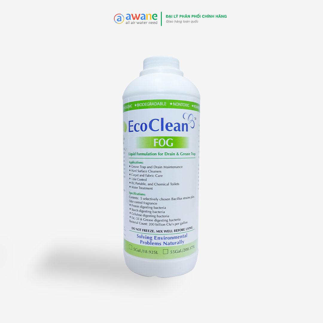 Vi Sinh Xử Lý Dầu Mỡ - Dung Dịch EcoClean FOG