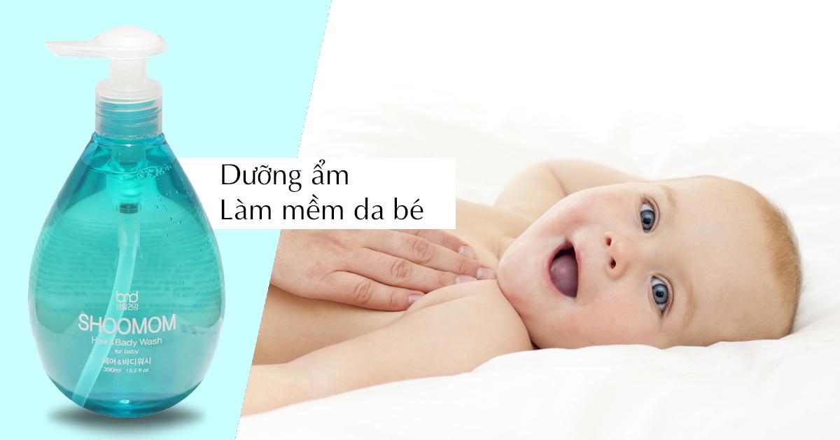 Dầu Gội Cho Bé Shoomom - Hàn Quốc (1)