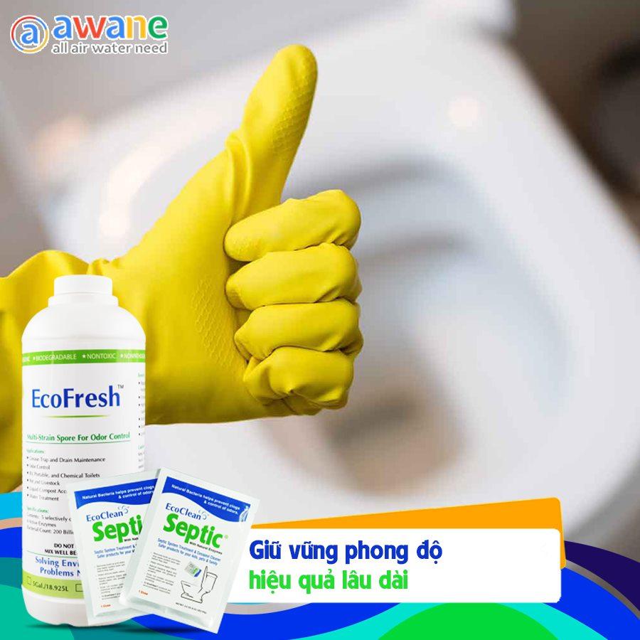 Combo Khử Mùi WC - EcoFresh, Septic (2)