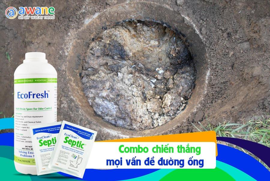 Combo Khử Mùi WC - EcoFresh, Septic (0)